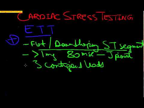 Board Review Cardiology-1 CARDIAC STRESS TESTING, Exercise T