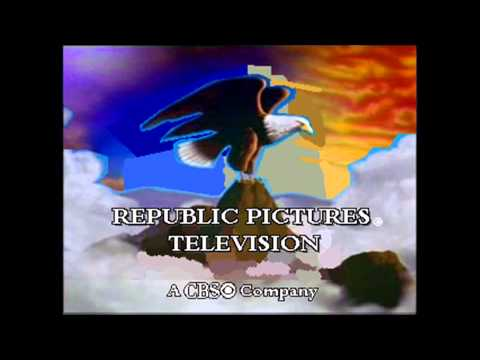CBS Television Studios (2009) and Republic Pictures Television (2010) logos