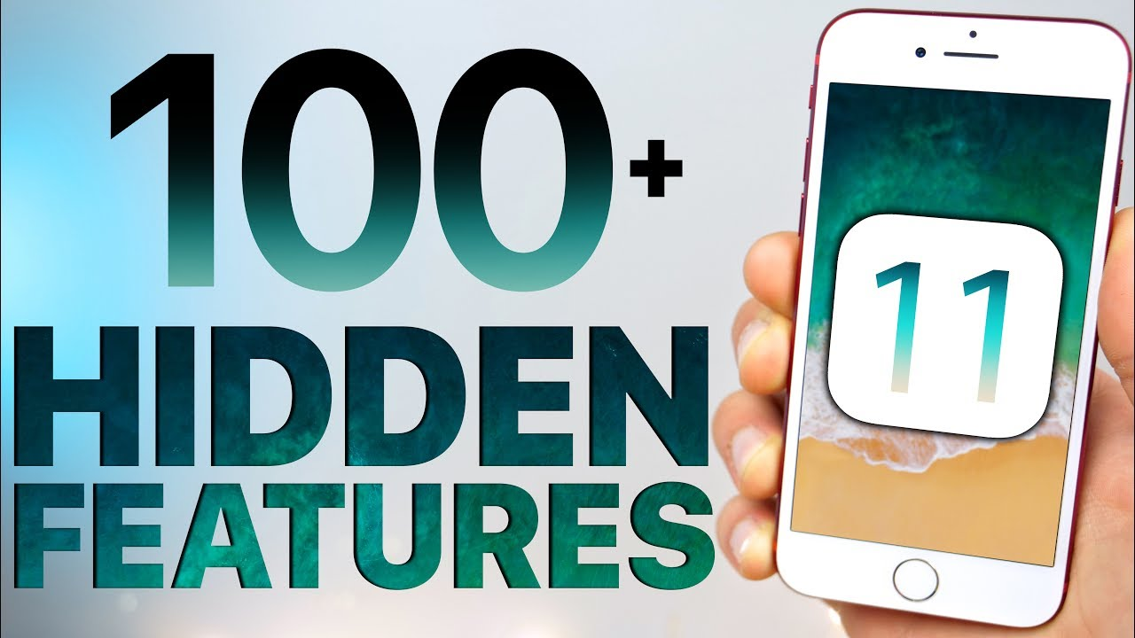 100 NEW iOS 11 Hidden Features & Changes!