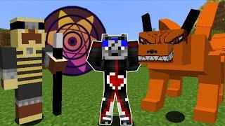 Minecraft : Naruto Craft S #1 - NOVA SÉRIE COM DOIS MODS DE NARUTO JUNTOS!!