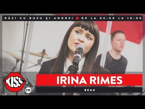 Irina Rimes - Beau (Live @ Kiss FM)