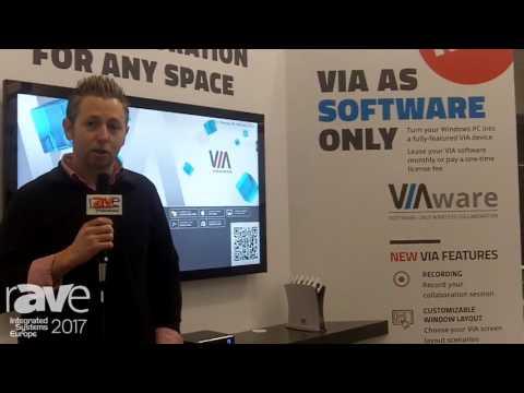 ISE 2017: Kramer Intros Kramer VIAware Collaboration Software Solution for Windows 10 PC