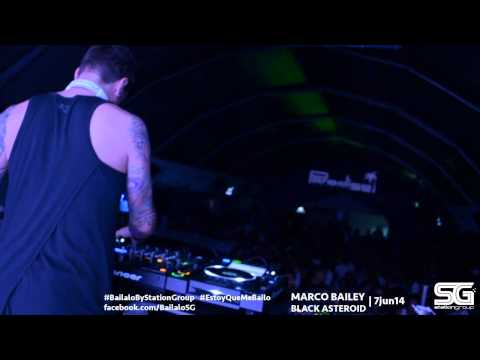 Marco Bailey & Black Asteroid 7 jun 2014 by Station Group @ Paradise, Pereira.