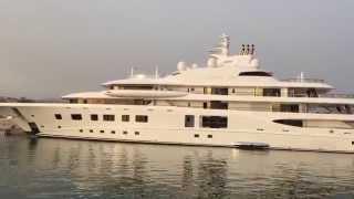 QUANTUM BLUE 104 meter Private Super Yacht by Luerssen