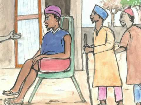 Lecture conte Dununba kumata (avec dessins)