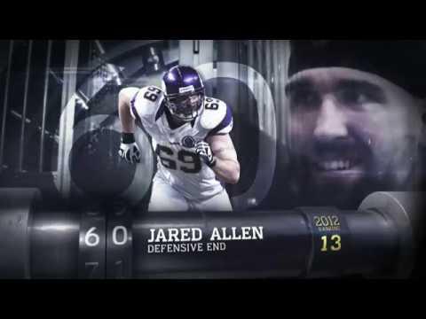 #60 Jared Allen (DE, Vikings) | Top 100 Players of 2013 | NFL