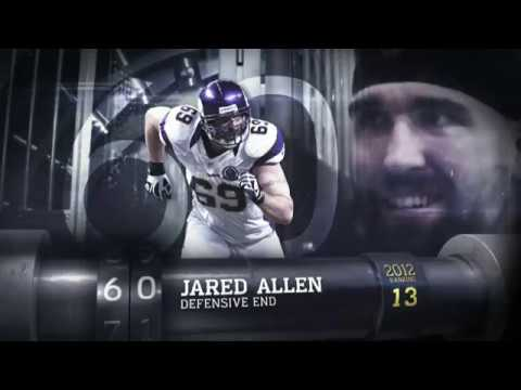 #60 Jared Allen (DE, Vikings) | Top 100 Players of 2013 | NFL