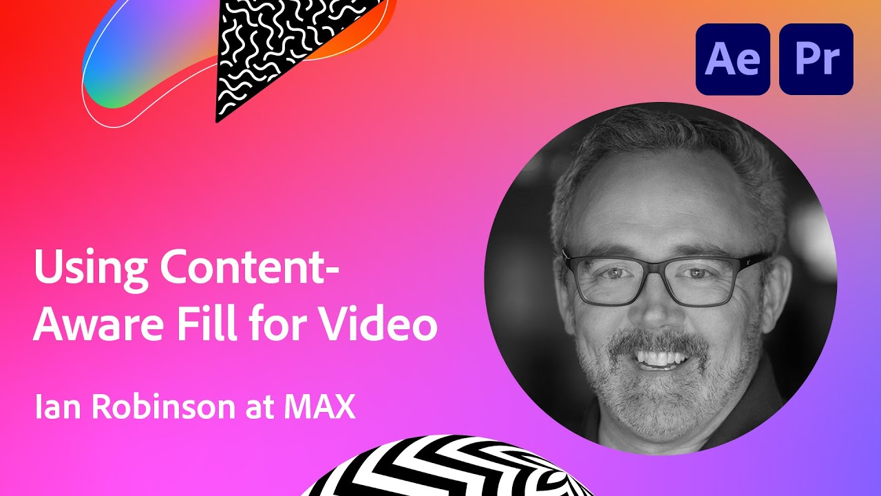 After Effects Basics: Using Content-Aware Fill for Video with Ian Robinson | Adobe Creative Cloud