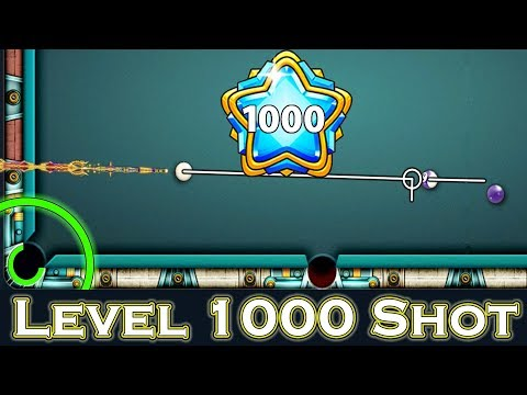 Level 1000 Shot + Playing Highest Possible Tier for increasing Coins - 8 Ball Pool - Miniclip