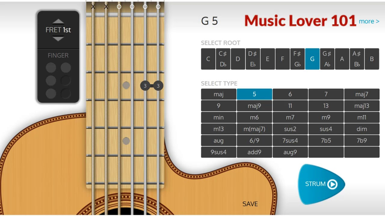 G5 chord guitar youtube g5 chord guitar hexwebz Choice Image