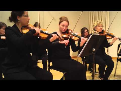Fargo-Moorhead Symphony strings play Downton Abbey Theme