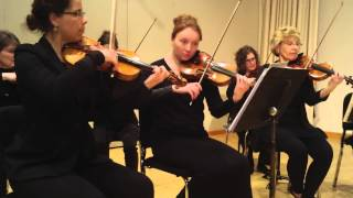 Fargo-Moohread Symphony strings play Downton Abbey Theme
