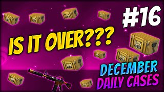 DECEMBER IN JANUARY WHAT??? ★ DECEMBER DAILY CASES DAY 16 - CS:GO CASE OPENING