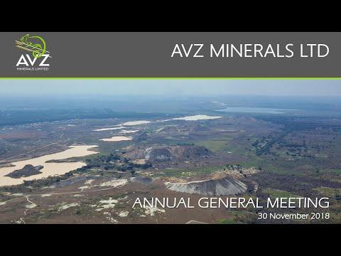 AVZ Minerals Ltd Company Presentation (30.11.2018)