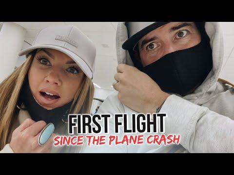 FIRST FLIGHT SINCE THE PLANE CRASH