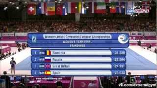 29-й ЧЕ среди женщин (Брюссель-2012) — Командный финал