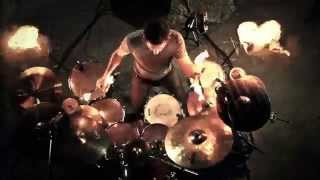 Fire performance on the drumset - Oliver Zisko