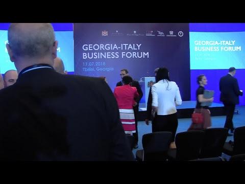GEORGIA-ITALY BUSINESS FORUM  17.07.2018  TBILISI GEORGIA