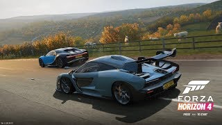 Forza Horizon 4 Demo Part 1 - Seasons Intro Race & Choosing the First Starter Car