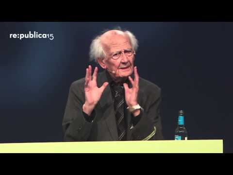 re:publica 2015 - Zygmunt Bauman: From Privacy to Publicity on YouTube