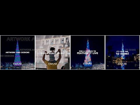 Dubai Burj Khalifa, open call campaign