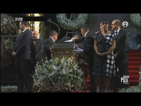 El emotivo momento de la llegada de restos de José José a Bellas Artes