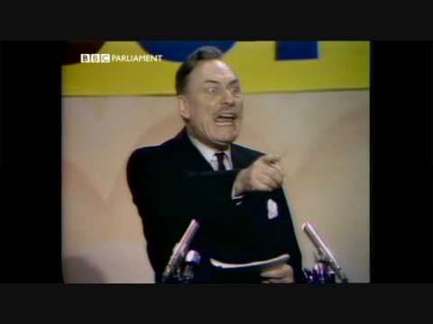 enoch powell denies he is a judas   1974