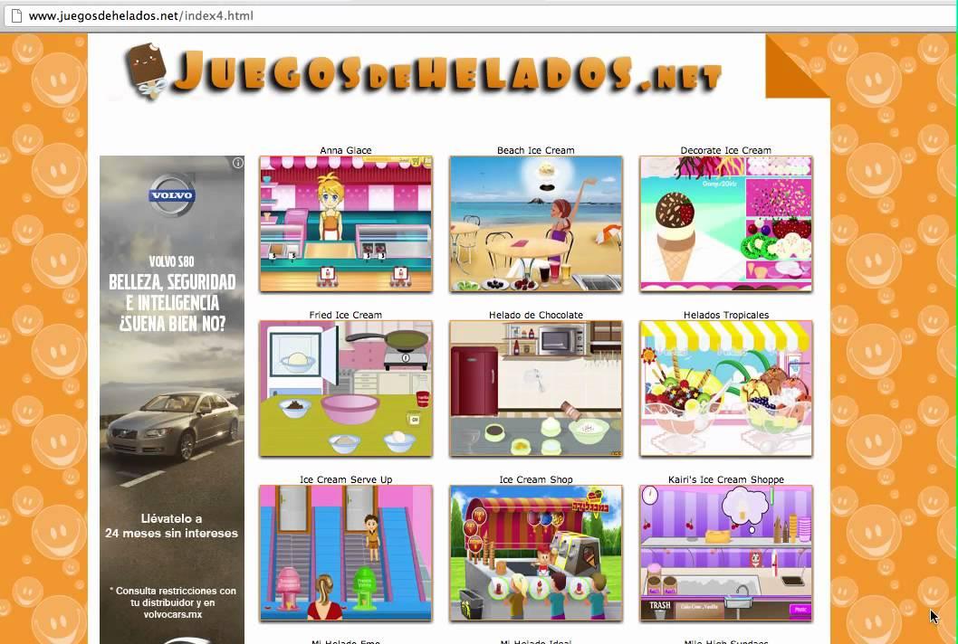 Juegos De Helados Gratis Online Youtube