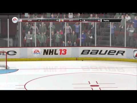 NHL 13 Shootout Commentary Ep 1 Ottawa Senators