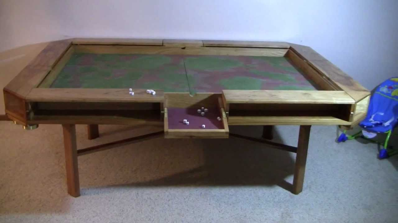 Gaming Table   Complete   YouTube