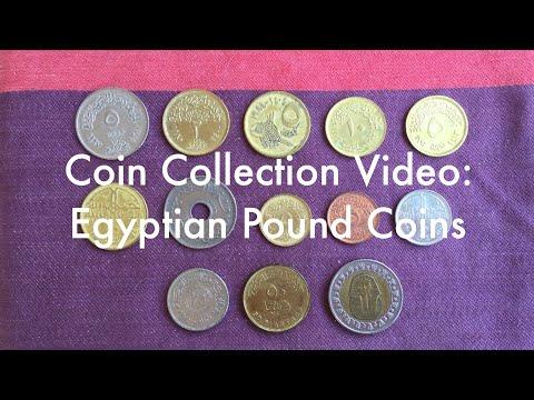 Coin Collection Video #15: Egyptian Pound Coins