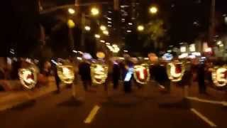 Castle HS Band | 2014 Waikiki Holiday Parade | An American Christmas