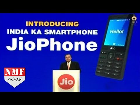 Reliance Jio Launches Feature Phone for FREE