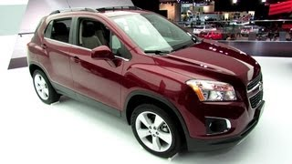 2013 Chevrolet Trax LTZ - Exterior and Interior Walkaround - 2013 Detroit Auto Show