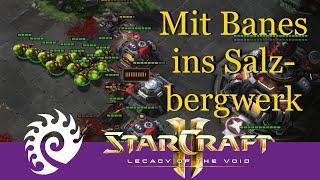Mit Banelingen ins Salzbergwerk - Starcraft 2: Quest to Master (Zerg Edition) [Deutsch | German]