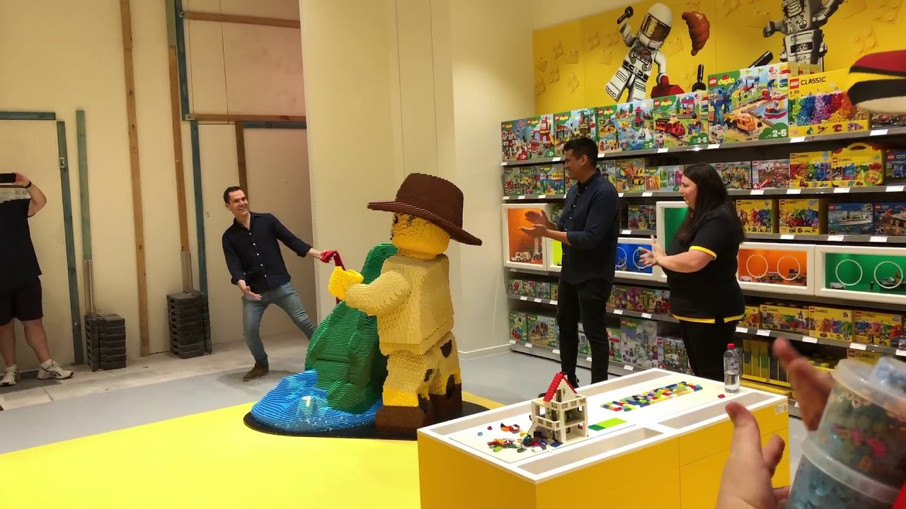 VIP Pre-Opening Night @ Chermside LEGO Certified Store.