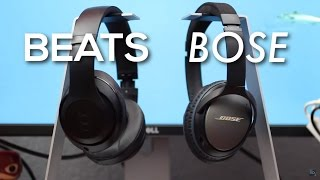 BOSE VS BEATS! Bose QC25 vs Beats Studio Comparison Review (2016)(Buy on Amazon (lowest price available): Bose QuietComfort 25: http://amzn.to/1S6ew6x Beats Studio Wireless: http://amzn.to/1JhKsyy Here's my HONEST ..., 2016-05-18T18:59:15.000Z)
