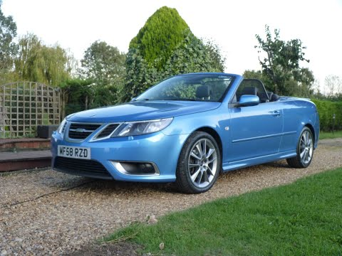 Video Review of 2008 SAAB 93 Aero TID Convertible For Sale sDSC Specialist Cars Cambridge UK