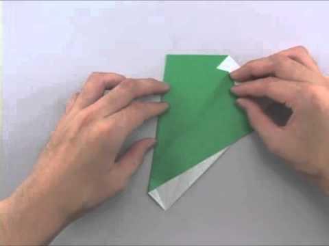 簡単 折り紙 折り紙 木 : youtube.com