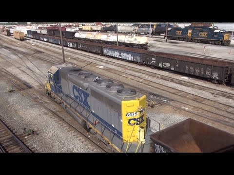 Chicago Terminal Series: Yard Ops at IHB and CSX Barr Yard 9/22/11