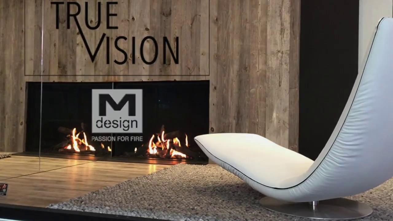 Relativ TrueVision : Gamme de cheminées Gaz M-design - YouTube NW29