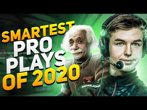 SMARTEST CS:GO PRO PLAYS IN 2020 SO FAR! (200IQ MOMENTS)