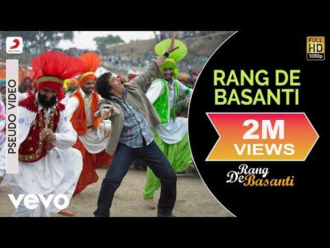 Rang De Basanti   Audio Song  Daler Mehndi Chitra AR Rahman  Aamir Khan