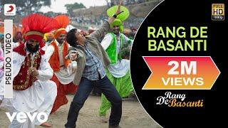 Rang De Basanti - Official Audio Song | Daler Mehndi |Chitra| A.R. Rahman | Aamir Khan