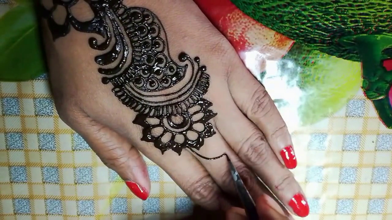 Easy Mehndi Design 2017 2018 Youtube