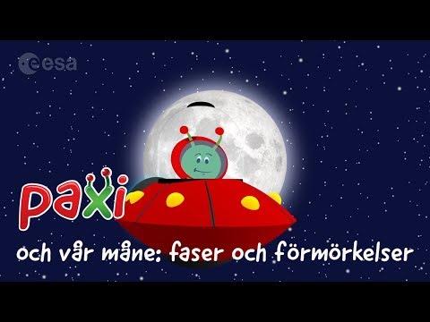 Paxi Och Vår Måne: Faser Och Förmörkelser