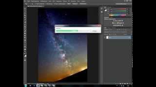 редактирование астрофото в Adobe Photoshop CS6