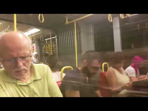 Метро Виена- Линия 6 |Vienna metro| Wien U-Bahn U6 Siebenhirten- Floridsdorf