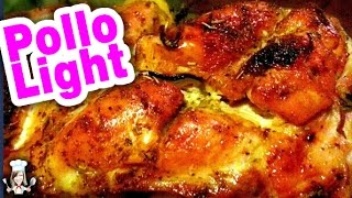 Pollo al horno light
