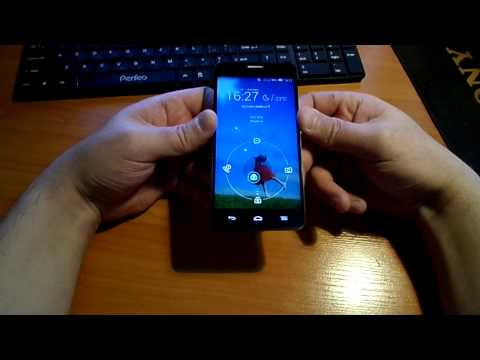 обзор Alcatel One Touch Idol X 6040 часть 1